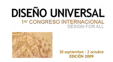 1er Congreso Internacional DISEÑO UNIVERSAL
