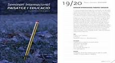 """Seminario Internacional """"Paisaje y educación"""""""