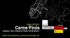 MadeinSpain.com - Conferencia Carme Pinós en Lisboa