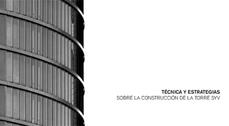 ¿Qué significa construir en altura?. Debate-Presentación del libro sobre la construcción de la Torre SyV