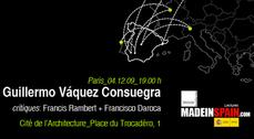 MadeinSpain.com - Conferencia Guillermo Vázquez Consuegra en París