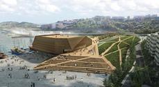 FOA gana el concurso para construir la nueva lonja pesquera de Pasaia