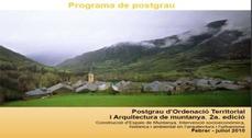 2ª edición del Posgrado de Ordenación Territorial y Arquitectura de Montaña