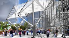 Finaliza la primera fase del recinto ferial de Cuenca diseñado por Rafael Moneo y Moneo-Brock Studio