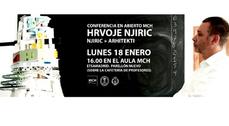 Conferencia en abierto de Hrvoje Njiric en Madrid