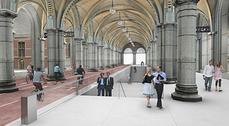 Cruz y Ortiz presentan su tercera propuesta para renovar el Rijksmuseum de Amsterdam
