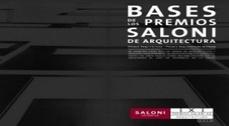 Abierta la convocatoria a los X Premios Saloni de Arquitectura