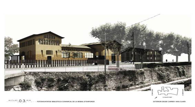 Estudi03mm, ganadores del concurso para la nueva Biblioteca Comarcal de La Bisbal d'Empordà