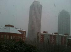 Barcelona blanca: nieve (08MAR2010)