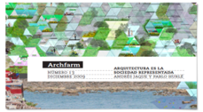 Andrés Jaque y Pablo Hurlé protagonizan un número de la revista Archfarm