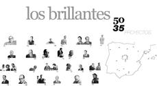 Los brillantes 50. 35 proyectos