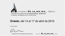 VII Congreso DOCOMOMO Ibérico en Oviedo, Asturias