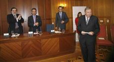 El Colegio de Arquitectos de Cantabria entrega el premio Juan Herrera a Juan Navarro Baldeweg