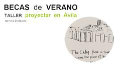 """16 Becas para el taller """"Proyectar en Ávila"""""""