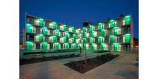 44 viviendas protegidas en les Pardinyes, Lleida, del estudio Coll-Lecrerc, ganadoras del Premio Vivienda Social 2009