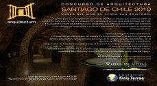 Concurso para el Museo del Vino en Cerro San Cristóbal
