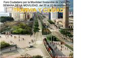 Jornadas tranvía y ciudad