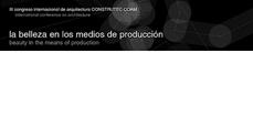 III Congreso de Arquitectura CONSTRUTEC - COAM