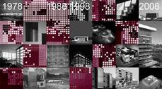 Exposición 3 Década 3 del estudio Ruiz-Larrea & Asociados en Cáceres