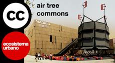 """ecosistema urbano comparte el proyecto """"Árbol de aire"""" bajo una licencia Creative Commons"""