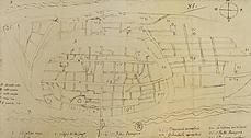 Descubierto el plano más antiguo de Zaragoza