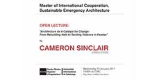 Cameron Sinclair en el COAC