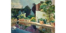 Últimos días para disfrutar de 'Jardines impresionistas' en el Thyssen y la Fundación Caja Madrid.
