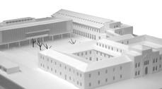 Proyecto definitivo para el convento de San Francisco, Ourense.