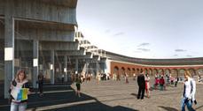 Valladolid presenta el proyecto de rehabilitación del antiguo depósito de locomotoras de Primitivo González