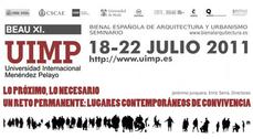 Curso de verano XIBEAU/UIMP: Próximo y necesario, Lugares contemporáneos de convivencia. Un reto permanente