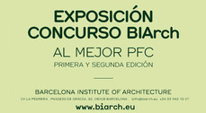 Exposición concurso BIArch al mejor PFC
