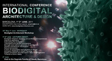 "Congreso Internacional ""Biodigital architecture and design"" en Barcelona"