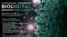 "Congreso Internacional ""Biodigital architecture and design"" en Barcelona"