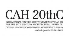 CAH20thC: Conferencia Internacional Patrimonio Arquitectónico s.XX