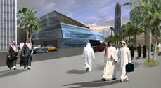 AMP Arquitectos creará un gran centro multiusos en Arabia Saudí