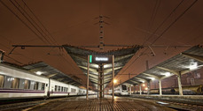 Estación del AVE en Ourense