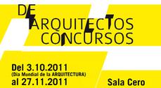 """Exposición """"De arquitectos. Concursos"""" en Valladolid"""