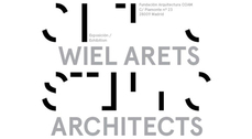 "Exposicion ""Wiel Arets Architects: STILLS"" en Madrid"