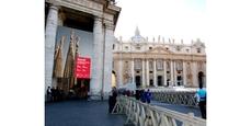 La Sagrada Familia en una muestra en el Vaticano