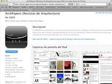 Kioskos digitales de Arquitectura: imprescindibles y muy activos: elapps y maxtor