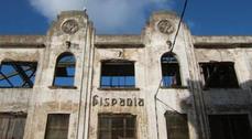Derribo de la antigua Fábrica de Lápices