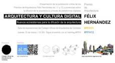 Arquitectura y cultura digital: Nuevos ecosistemas para la difusión de la arquitectura