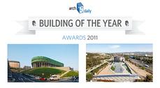 """El Bilbao Arena y la sede de Iguzzini en España elegidos """"Edificio del año 2011"""" por Arch Daily"""