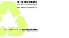 """Documentales de Arquitectura """"... Hacia la sostenibilidad"""" en Valladolid"""