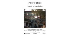 "Peter Rich ""Learnt in Translation"""
