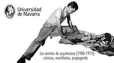 VIII Congreso Internacional de la Escuela de Arquitectura de Navarra: 'Las revistas de arquitectura (1900-1975): crónicas, manifiestos, propaganda'