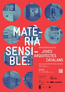 """La exposición de jóvenes arquitectos catalanes """"Materia Sensible"""" llega a Barcelona"""