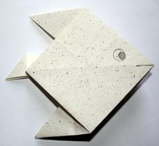 Pez origami, por Ethel Baraona