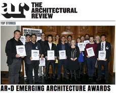 ...Architectural Review 2012 Emerging Award y High commend para obras en España