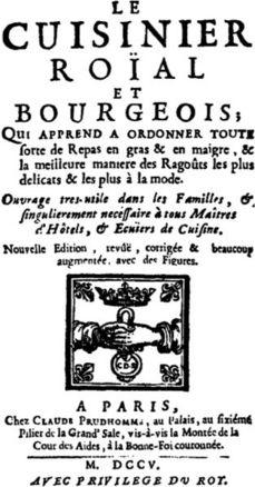 ...Enriquecer sopas de sobre con salsa Perrin's, de François Massialot a Eduardo Souto de Moura